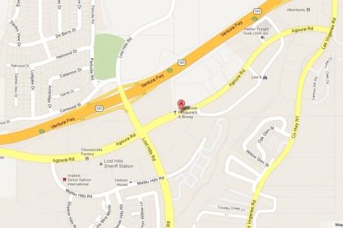 UAKC Calabasas Map