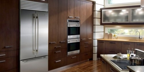 Sub Zero Stainless French Door Refrigerator