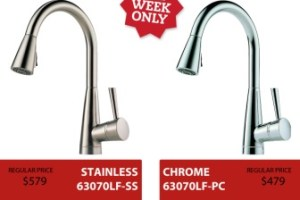 UAKC Black Friday Specials on Plumbing Fixtures