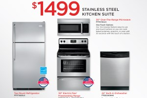 Black Friday Appliance Package Specials
