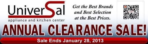 Universal Annual Clearance Sale