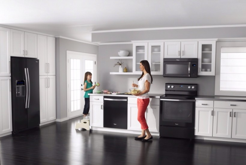 Whirlpool Black Ice Collection