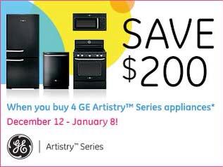 GE Artistry Series