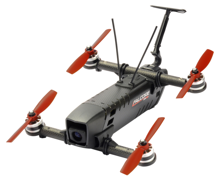 Amimon39s Falcore Aims To Bring Fpv Drone Racing To The