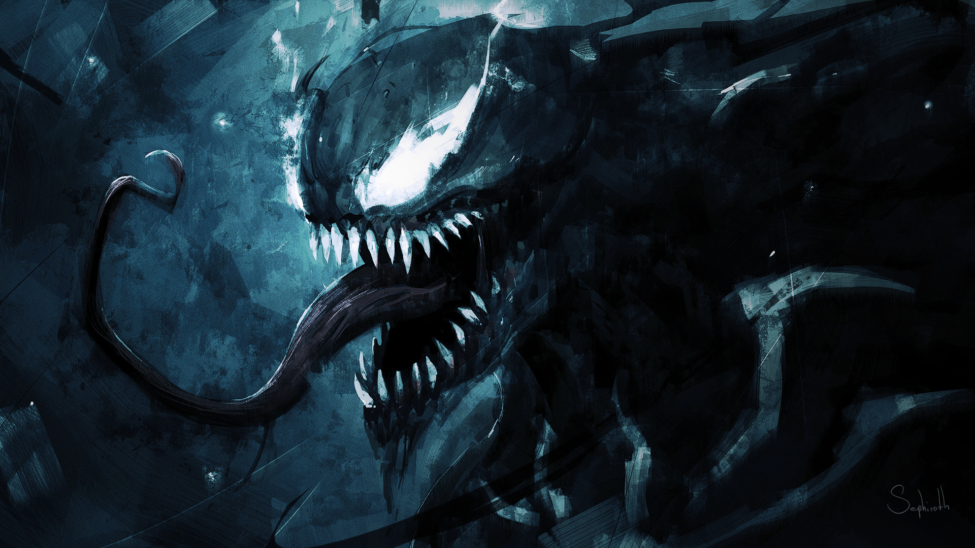 Free Download 3d Desktop Wallpapers Backgrounds Wallpaper Marvel Comics Venom Art Desktop Picture Amp Hd