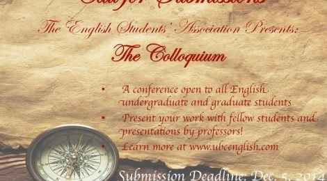 Call for Submissions: The Colloquium