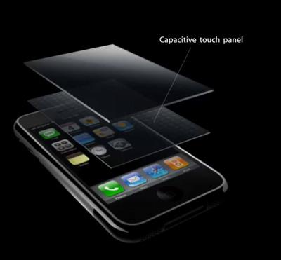 tecnologia multitouch del iphone