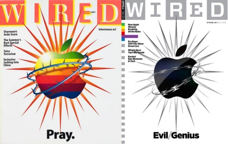 Wired y sus tapas de Apple
