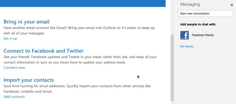 Outlook.com integracion