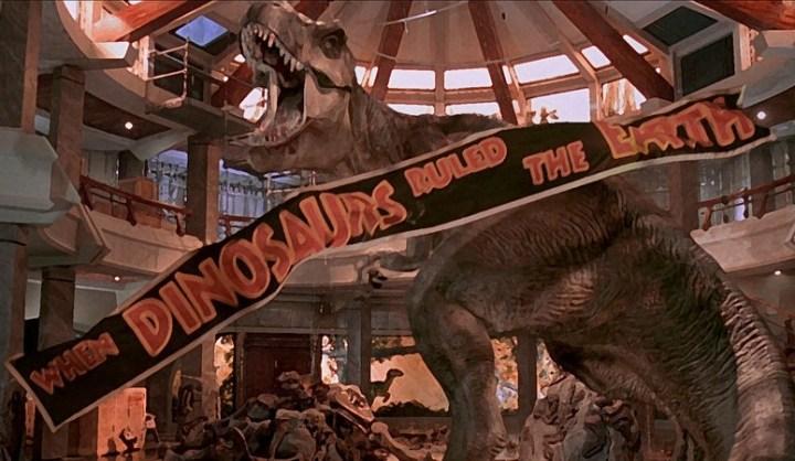 cuando los dinosaurios reinaban en la tierra