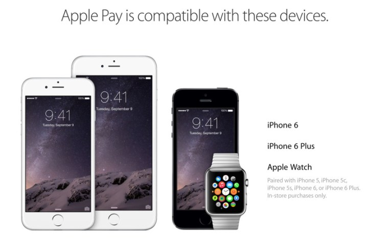 compatibilidad de apple pay