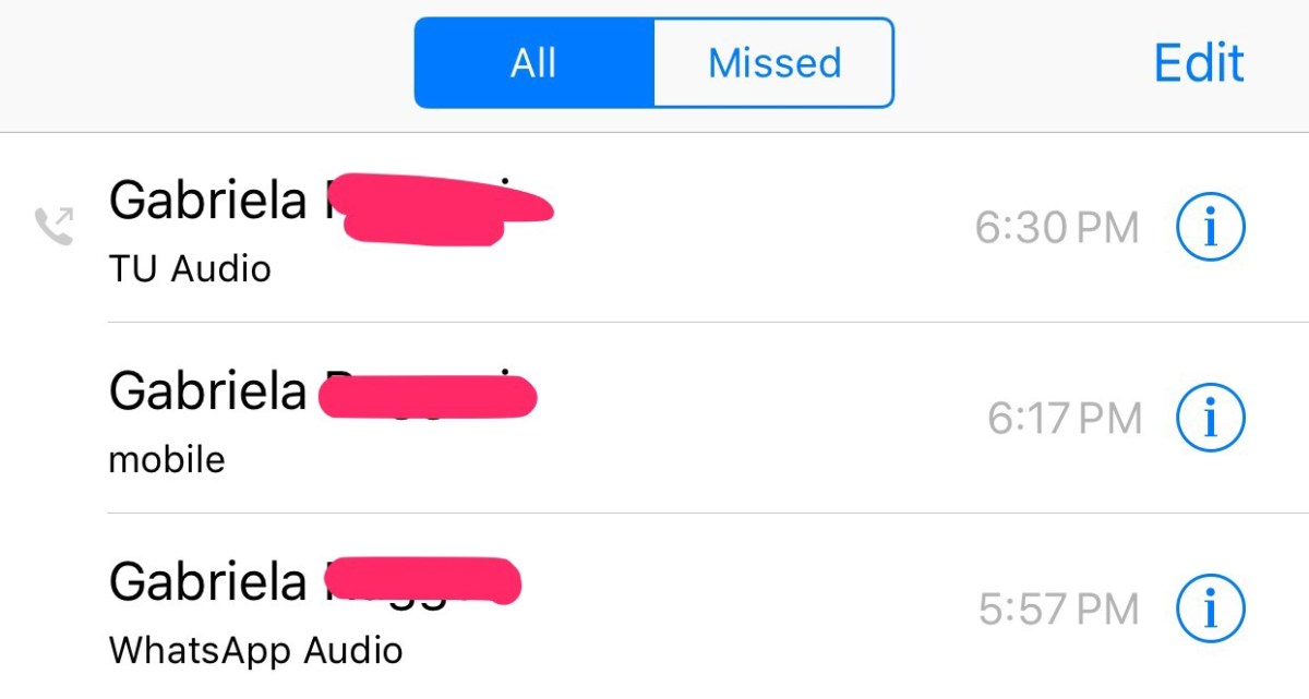 iOS borrando las fronteras entre voz y datos