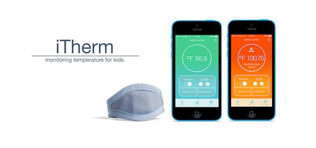 iTherm Bracelet Records Your Body Temperature Ubergizmo