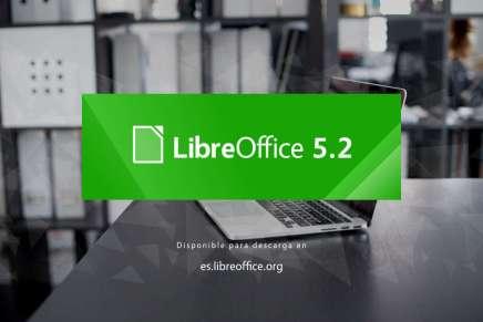 Cómo instalar LibreOffice 5.2 en Ubuntu y derivados