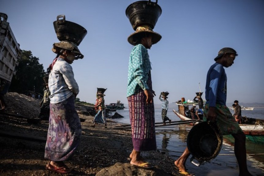 Troubled Myanmar's economy loses its shine