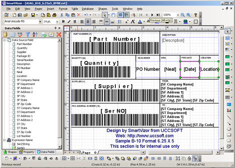 AIAG shipping labels, AIAG Label Templates,Download,Free,Software - shipping manual template