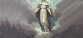 إمتلأت المغاور تحت الأرض بالرهبان، وظهرت الملكة أم النور، وطلبت بناء كنيسة لها بإشارة من الرب