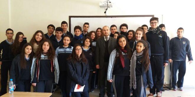 """""""لابورا"""" تنظم لقاءً توجيهياً في في مدرسة الادفنتست – البوشرية"""