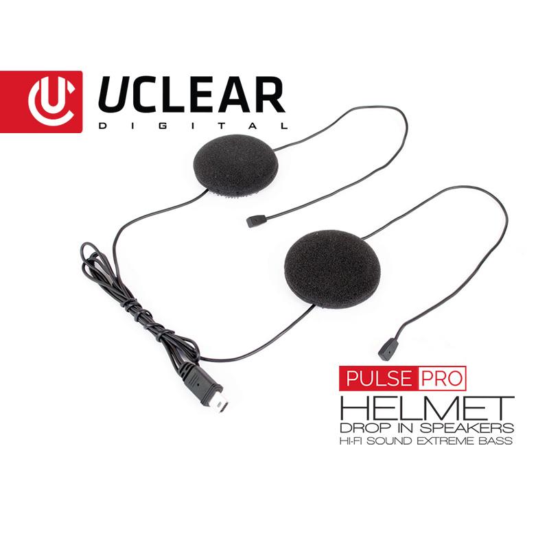 Pulse Pro Helmet Speakers  Microphone by UCLEAR