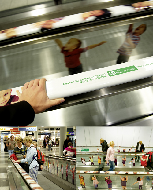Creative Outdoor Advertisement Design - SOS Kinderdorfer
