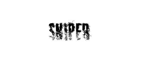 Sniper Font