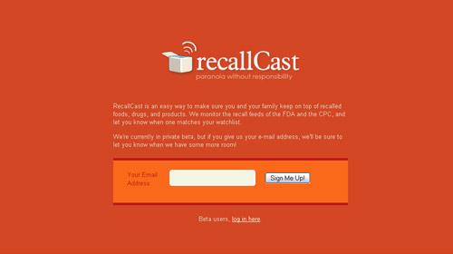 recallcast