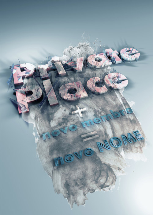 private place typography