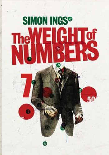 Beautiful Book Covers - The Weight of Numbers