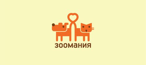 zoo mania animal logo design