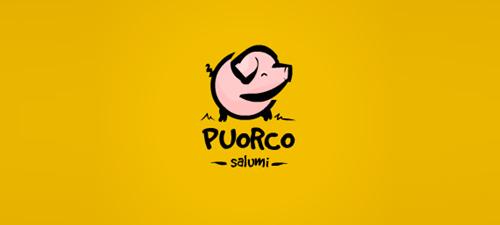 beautiful animal logo design