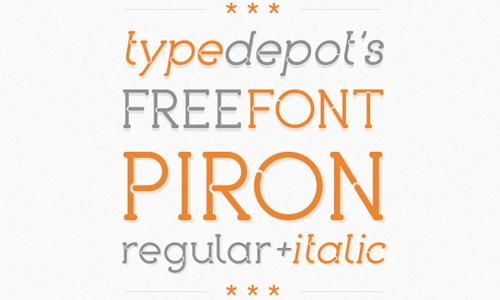 piron free fon