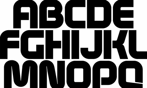 age free font