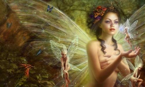 faerie scene