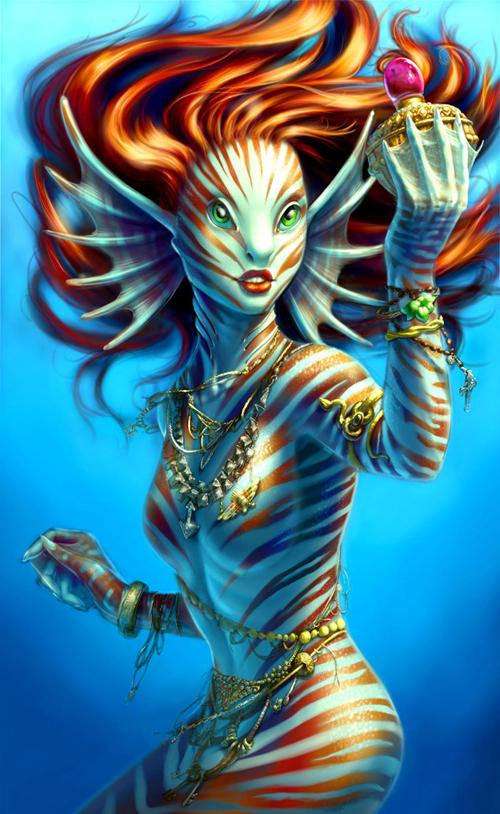 digital-painting-21-Little Mermaid