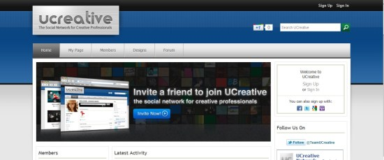 ucreative--social-network