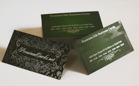 Premium Silk With Spot Gloss And Foil