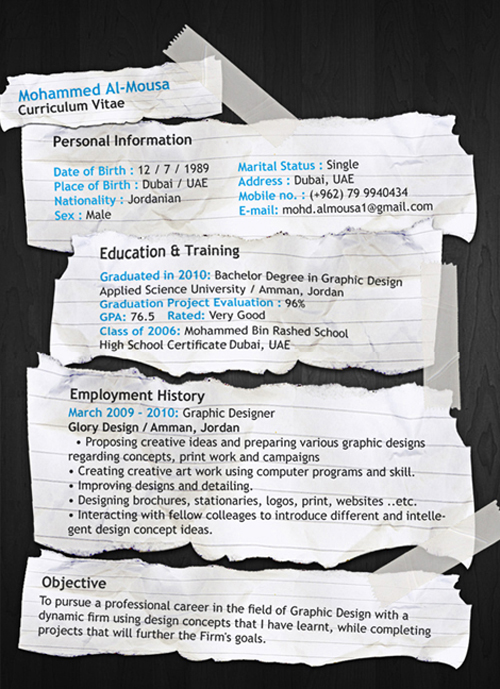 great resume designs that catch attention and got