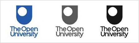 Logo Design: Open University London Logo from David Airey via YouTheDesigner.com