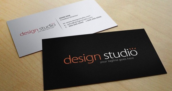 UCreative - How to Make a Business Card in Five Easy Steps - buisness card design