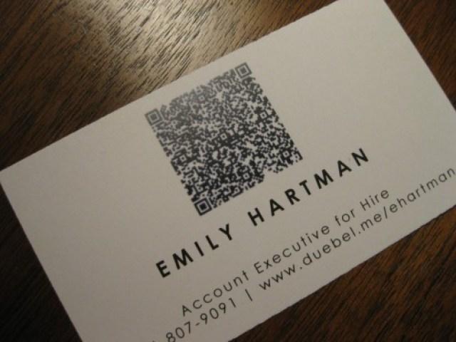 Emily Hartman's business card