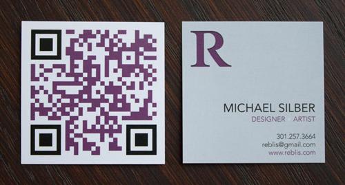 Michael Silber's business card