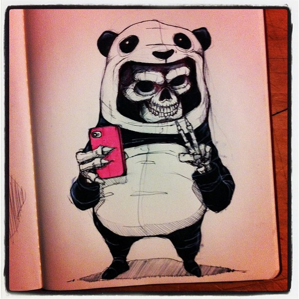 Sketchbook Illustrations by Norio Fujikawa via YouTheDesigner.com