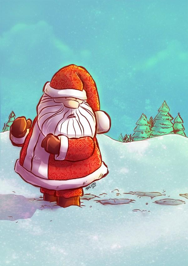 Santa 2001 by marespro13