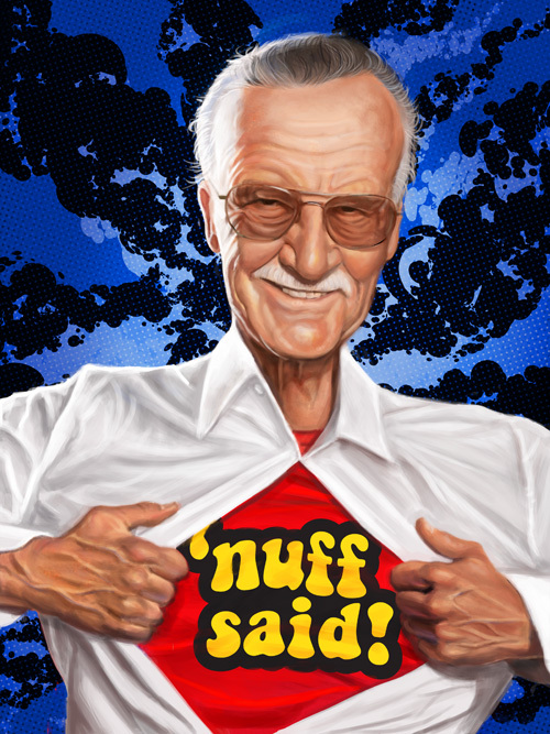 """Stan Lee"" by Mark Hammermeister"
