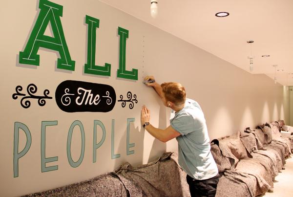 Holiday Inn Mural | Tobias Hall