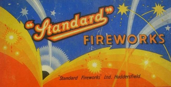 Vintage Fireworks Packaging Design