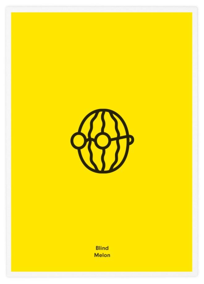 Poster-Design-Pictogram-Blind-Melon