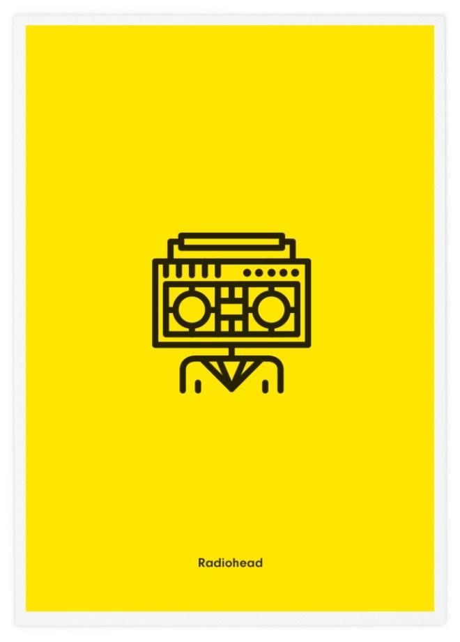 Poster-Design-Pictogram-Radiohead