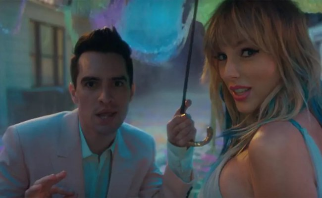 Taylor Swift Shares Video For Me Ft Panic At The Disco S