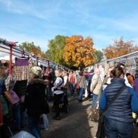 Auf Besuch beim Stoffmarkt in Freising